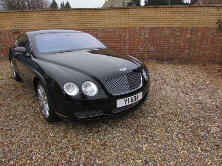 View BENTLEY CONTINENTAL W12 Auto Entry